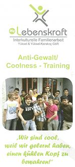 Flyer Coolness- / Anti-Gewalt-Training