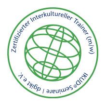 Siegel - Zertifizierter Interkultureller Trainer durch IKUD-Seminare